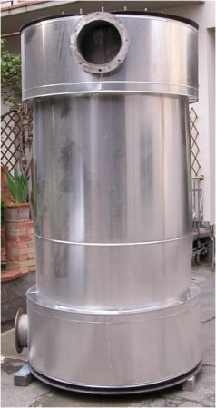 Day Tank Hot Air Steel Recuperator